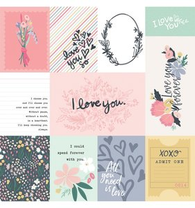 You & Me 3x4 Journaling Cards
