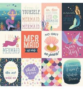 Mermaid Dreams 3x4 Journaling Cards