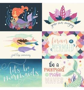 Mermaid Dreams 6x4 Journaling Cards