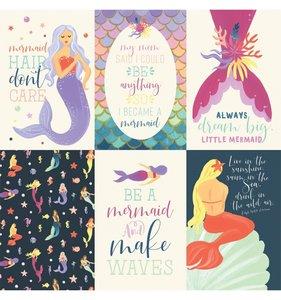 Mermaid Dreams 4x6 Journaling Cards