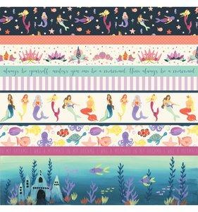 Mermaid Dreams Border Strips