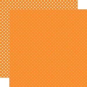 "Papel 12""x12"" Dots and Stripes Orange"