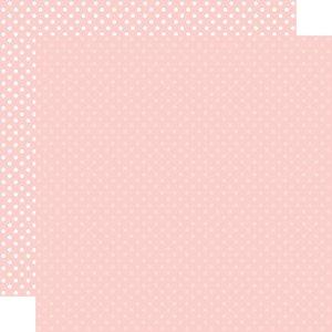 "Papel 12""x12"" Dots and Stripes Blush"