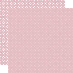 "Papel 12""x12"" Dots and Stripes Light Mauve"