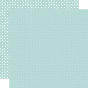 """Papel 12""""x12"""" Dots and Stripes Mint"""