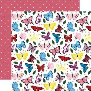 "Papel 12x12"" Alice in Wonderland v2 Butterflies"