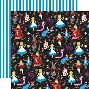 "Papel 12x12"" Alice in Wonderland v2 Tea Party"