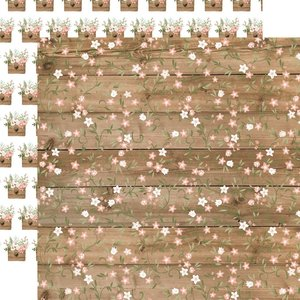 """Papel 12x12"""" Our Wedding Forever Floral"""