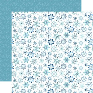 "Papel 12x12"" Winter Magic Magic Snowflake"