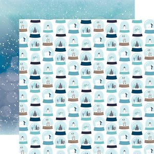 "Papel 12x12"" Winter Magic Let it Snow"