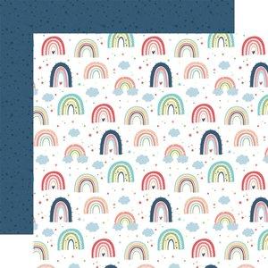 "Papel 12x12"" Little Dreamer Girl Rainbow Magic"