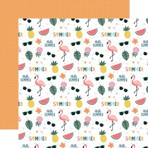 """Papel 12x12"""" Pool Party Hello Summer"""
