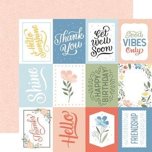 "Papel 12x12"" Salutations No 1 3""X4"" Journaling Cards"