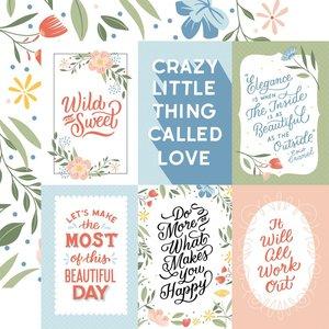 "Papel 12x12"" Salutations No 1 4""X6"" Journaling Cards"