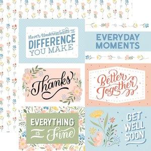 "Papel 12x12"" Salutations No 1 6""X4"" Journaling Cards"