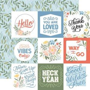 "Papel 12x12"" Salutations No 1 Journaling Cards"