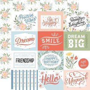 "Papel 12x12"" Salutations No 1 4""X3"" Journaling Cards"