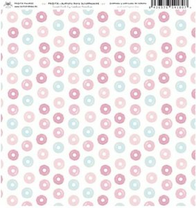 "Acetato 12x12"" Fridita Sweet Pink"