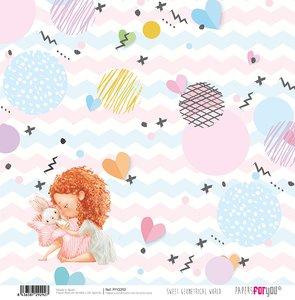 "Papel 12x12"" Sweet Geometrical World 8"