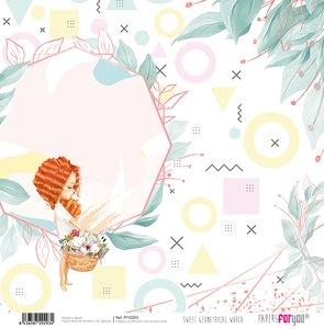 "Papel 12x12"" Sweet Geometrical World 9"