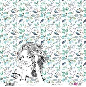 "Papel 12""x12"" Carnival Flowers 2"