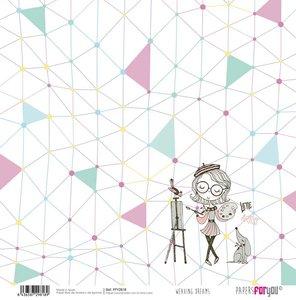 """Papel 12x12"""" Weaving Dreams 10"""