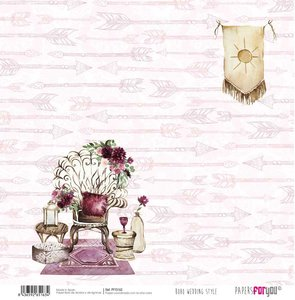 "Papel 12x12"" Papers For You Boho Wedding Style 4"
