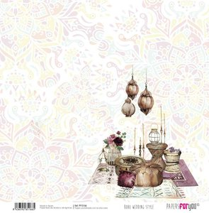 "Papel 12x12"" Papers For You Boho Wedding Style 7"