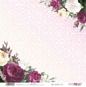 "Papel 12x12"" Papers For You Boho Wedding Style 9"