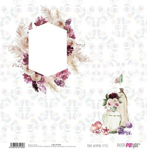 "Papel 12x12"" Papers For You Boho Wedding Style 10"