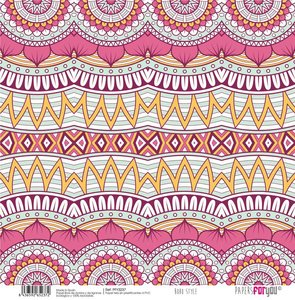 "Papel Tela 12x12"" Papers For You Boho Wedding Style 6"