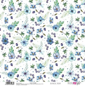 """Papel Tela 12x12"""" Papers For You The Flowering Project 2"""
