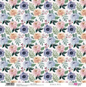"""Papel Tela 12x12"""" Papers For You The Flowering Project 7"""