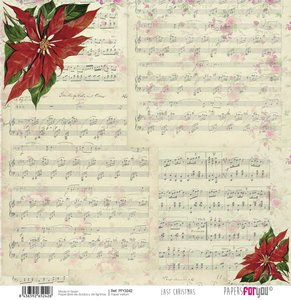 "Vellum 12x12"" Papers For You Last Christmas 3"