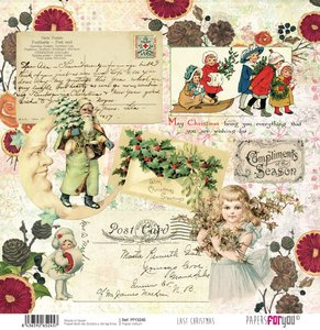 """Vellum 12x12"""" Papers For You Last Christmas 6"""