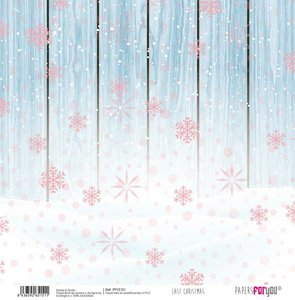 """Papel Tela 12x12"""" Papers For You Last Christmas 1"""