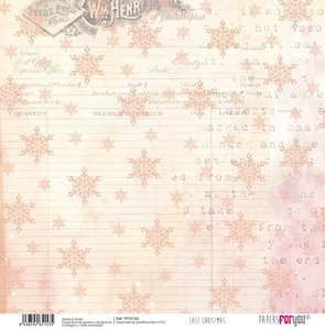 """Papel Tela 12x12"""" Papers For You Last Christmas 3"""
