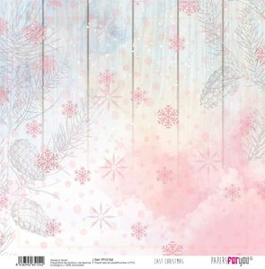 """Papel Tela 12x12"""" Papers For You Last Christmas 4"""