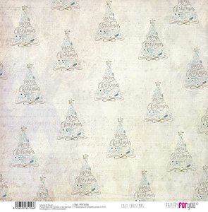 """Papel Tela 12x12"""" Papers For You Last Christmas 6"""