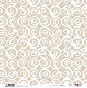 """Papel Tela 12x12"""" Papers For You Elegant Simplicity 1"""