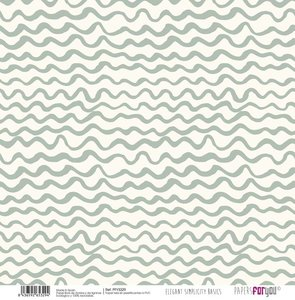 """Papel Tela 12x12"""" Papers For You Elegant Simplicity 5"""