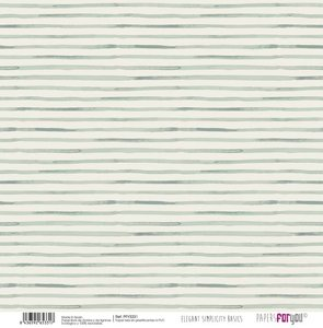 """Papel Tela 12x12"""" Papers For You Elegant Simplicity 7"""