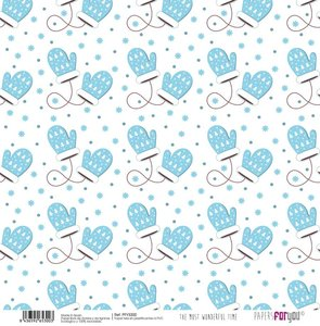 """Papel Tela 12x12"""" Papers For You The Most Wonderful Time 5"""