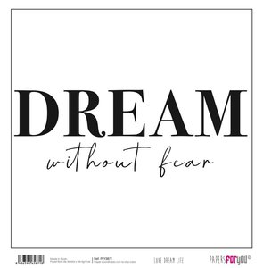"""Papel 12x12"""" Papers For You Love Dream Live 2"""