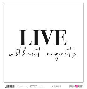 """Papel 12x12"""" Papers For You Love Dream Live 3"""