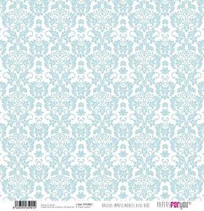 """Vellum 12x12"""" Papers For You Básicos Azul Bebé 5"""