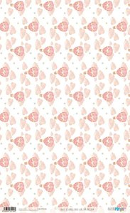 Papel de arroz 54x33 cm Papers For You Baby Girl World 1