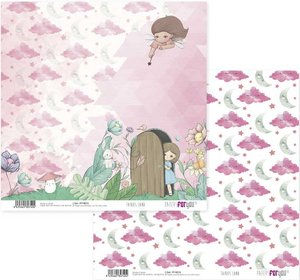 """Papel 12x12"""" Papers For You Fairies Land 7"""
