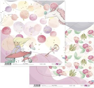 """Papel 12x12"""" Papers For You Fairies Land 9"""