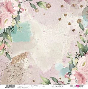 """Papel Tela 12x12"""" Papers For You Our Tiny Miracle 2"""